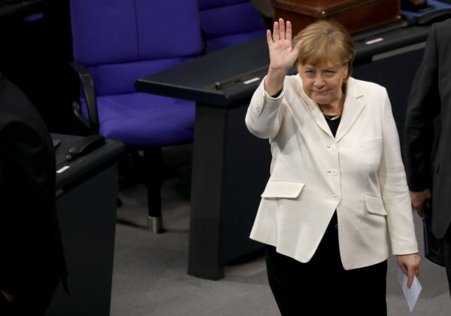 Γερμανία: Με 364 ψήφους επανεξελέγη καγκελάριος η Μέρκελ | tovima.gr