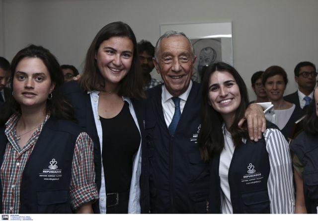 Πρόεδρος Πορτογαλίας: Γενναία η πολιτική της Ελλάδας στο προσφυγικό | tovima.gr
