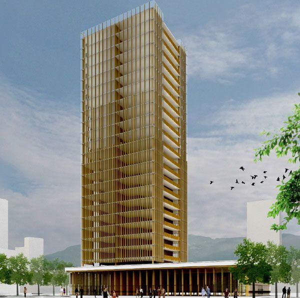 Φτιάχνουν ουρανοξύστη ύψους 350 μέτρων από ξύλο | tovima.gr