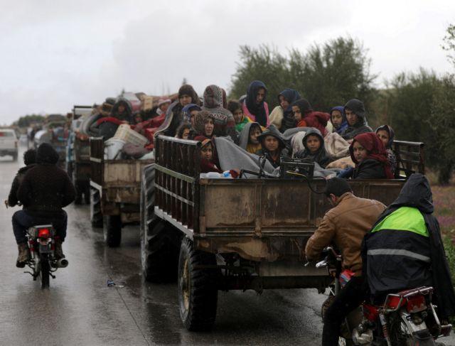 Συρία: Εκατοντάδες εγκαταλείπουν τις εστίες τους στην Αφρίν | tovima.gr