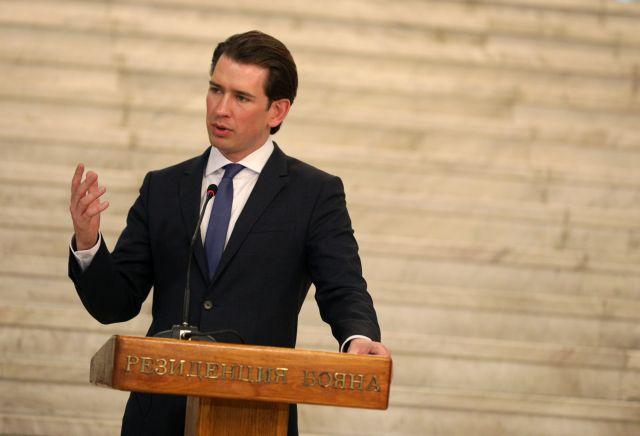 Αυστρία: Αντίθετος σε ένταξη της Τουρκίας ο Σ. Κουρτς | tovima.gr