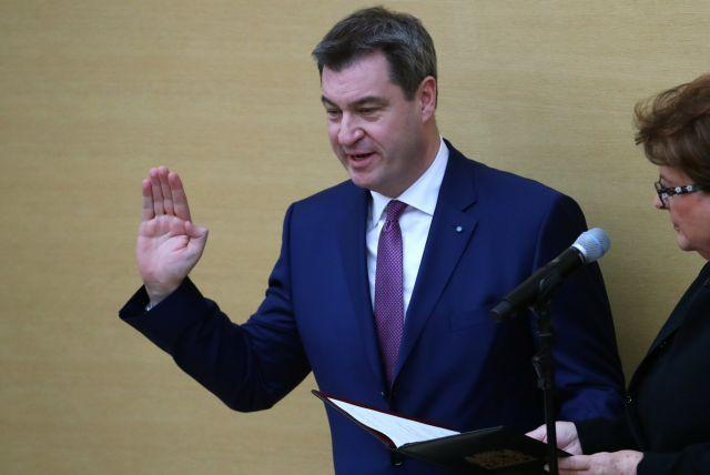Νέος πρωθυπουργός της Βαυαρίας ο Μάρκους Σέντερ | tovima.gr