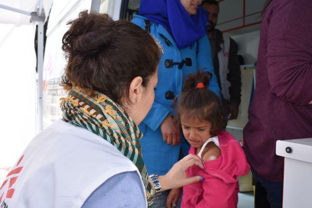 Χίος: Εμβολιασμός 300 παιδιών προσφύγων κατά της ιλαράς | tovima.gr