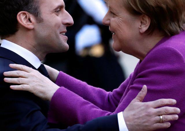 Μακρόν καλεί Μέρκελ να σταθεί «στο ύψος» των μεταρρυθμίσεων για ΕΕ | tovima.gr