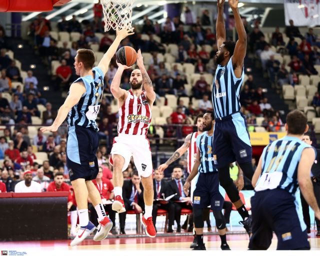 Α1 μπάσκετ: Εύκολη νίκη του Ολυμπιακού επί του Κολοσσού   tovima.gr