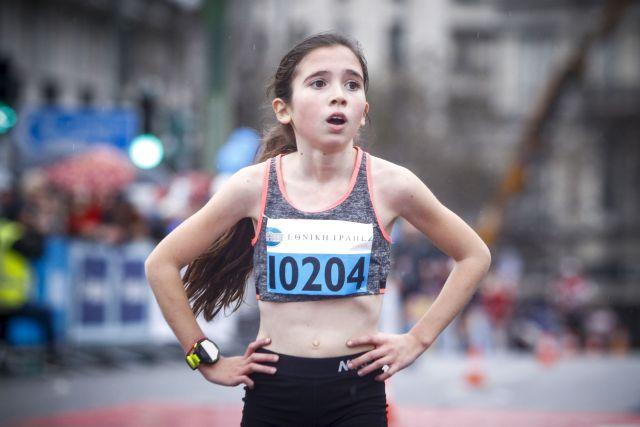 Η 12χρονη που έκλεψε την παράσταση στον Ημιμαραθώνιο της Αθήνας | tovima.gr