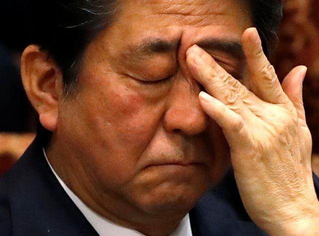 Ιαπωνία: Συγγνώμη από Αμπε για σκάνδαλο που απειλεί την κυβέρνηση | tovima.gr