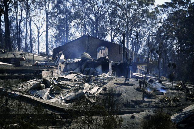 Αυστραλία: Πυρκαγιά έκανε στάχτη παραθαλάσσια πόλη   tovima.gr