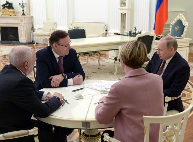 Πούτιν: «Ενίσχυση στην αμυντική ικανότητα της χώρας μας» | tovima.gr