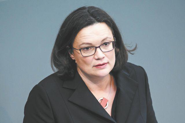 Αντρέα Νάλες: Η πρώτη κυρία της γερμανικής Σοσιαλδημοκρατίας   tovima.gr