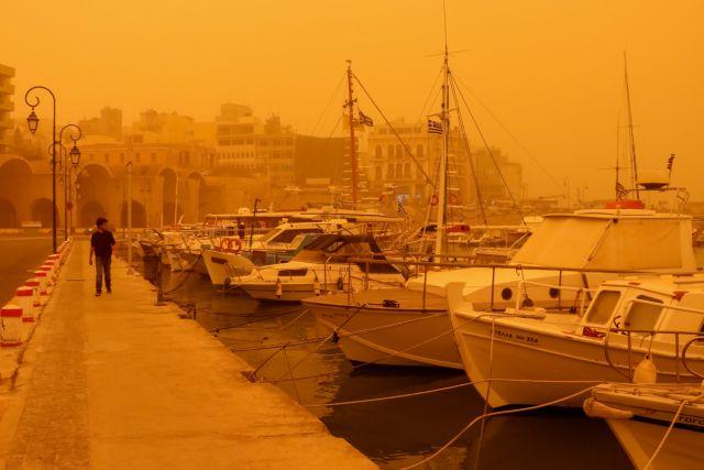 Με αναπνευστικά προβλήματα στην Κρήτη από την σκόνη | tovima.gr