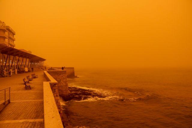 «Επιστρέφει» η αφρικανική σκόνη στην Κρήτη | tovima.gr