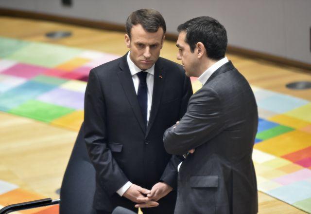 Καταδικάζει ο Μακρόν τη συμπεριφορά της Αγκυρας   tovima.gr