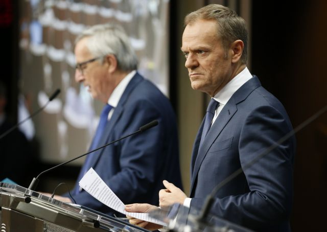 Τουσκ – Γιούνκερ: Καταδικάζουμε τις προκλητικές ενέργειες της Τουρκίας | tovima.gr
