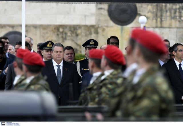 Καμμένος: Όποιος αμφισβητήσει την εθνική μας κυριαρχία θα τον συντρίψουμε | tovima.gr