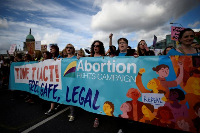Ιρλανδία: Σε δημοψήφισμα η χαλάρωση της νομοθεσίας των αμβλώσεων   tovima.gr