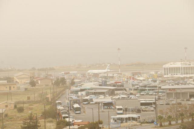 Δύο μέρες ακόμα θα μείνει στην Ελλάδα η αφρικανική σκόνη   tovima.gr