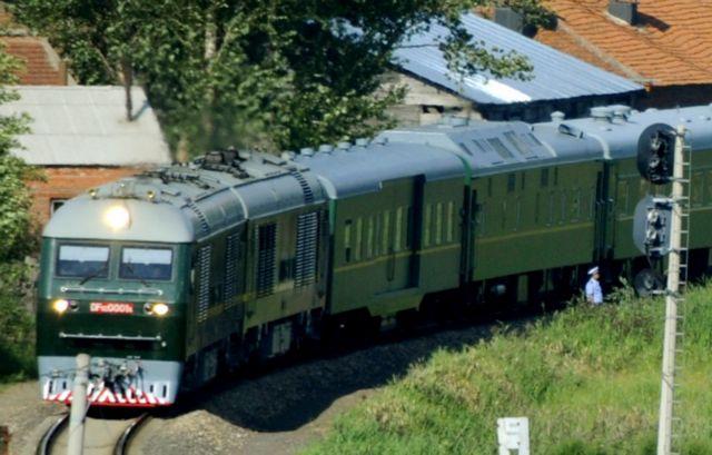 Ταξίδι στην Κίνα με θωρακισμένο τρένο για τον Κίμ Γιόνγκ Ουν | tovima.gr