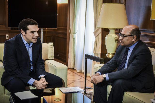 Οι επενδύσεις στη συνάντηση Τσίπρα-προέδρου της Τράπεζας Ανασυγκρότησης   tovima.gr