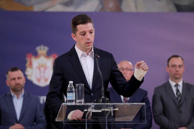 Οι Σέρβοι αποχωρούν από την κυβέρνηση του Κοσόβου | tovima.gr