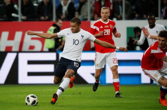 Διεθνή φιλικά: Εξαιρετική η Γαλλία, 3-1 τη Ρωσία στην Αγία Πετρούπολη | tovima.gr