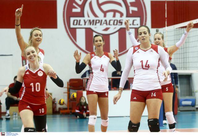 Α1 βόλεϊ γυναικών: Περίπατος του Ολυμπιακού επί του Μαρκόπουλου | tovima.gr