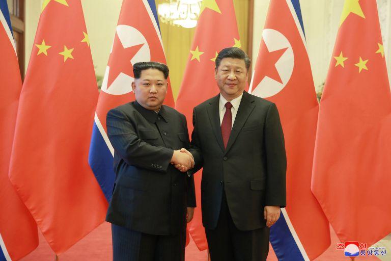 Νέες συναντήσεις μεταξύ των ηγετών Βόρειας Κορέας – Κίνας | tovima.gr