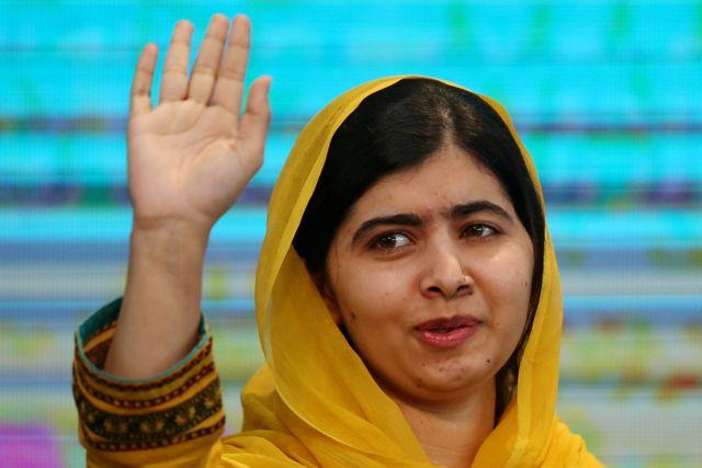Τέλος στην συγκινητική επίσκεψη της Μαλάλα στο Πακιστάν | tovima.gr