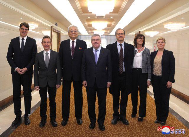 Η ΔΟΕ επιβεβαίωσε την επίσκεψη του προέδρου της στη Βόρεια Κορέα | tovima.gr