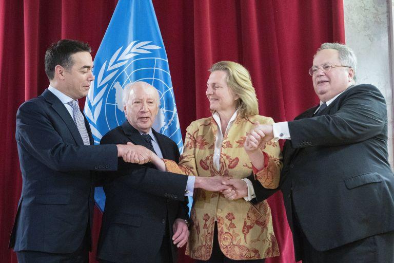 Progress, good will but rough road ahead in FYROM talks | tovima.gr