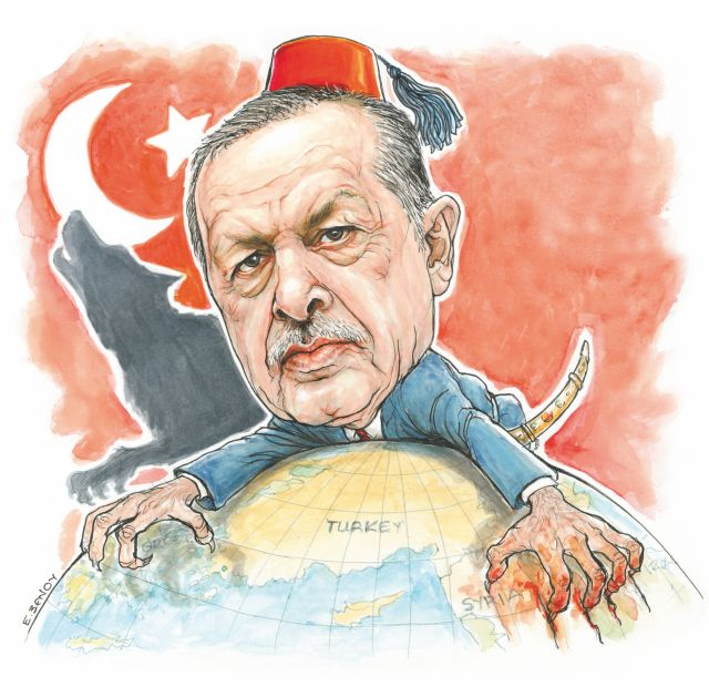 Στο «κόκκινο» η ανησυχία στην Αθήνα για τα σχέδια Ερντογάν | tovima.gr