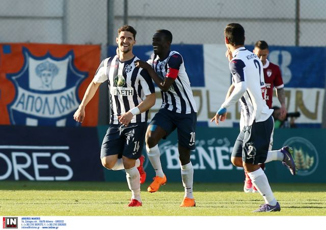 Super League: Ανάσα για τον Απόλλωνα με 3-0 επί της Λάρισας | tovima.gr