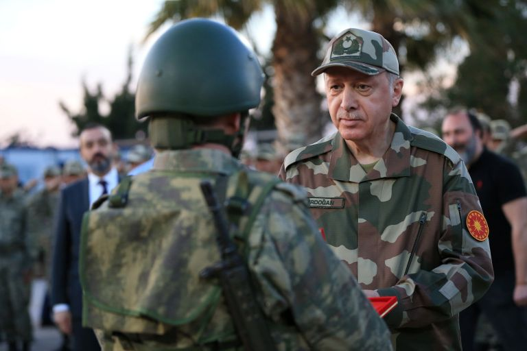 Erdogan: Tsipras could not hand over our eight officers, nor can I return their two | tovima.gr
