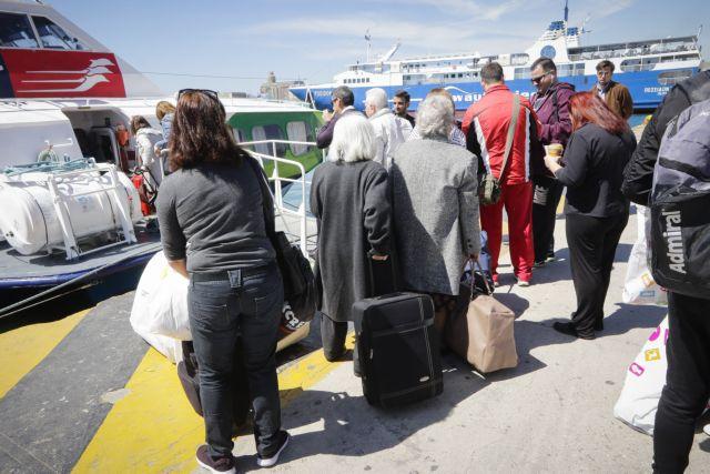 Ασφυκτικά γεμάτα τα λιμάνια για την έξοδο του Πάσχα   tovima.gr
