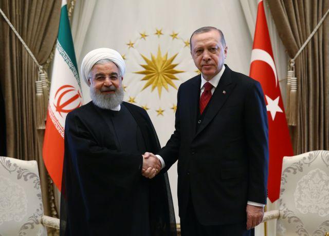 «Συνήγορος» του Ερντογάν το Ιράν, κατηγορεί τις ΗΠΑ για εκφοβισμό | tovima.gr