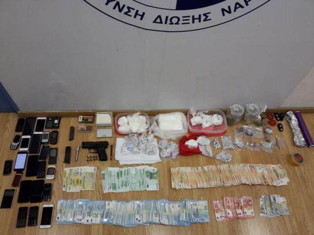 Εξαρθρώθηκε κύκλωμα που διακινούσε ναρκωτικά στην Αττική | tovima.gr