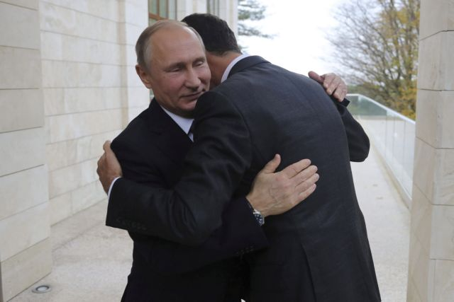 Κλήση του Μακρόν προς τον Πούτιν για τερματισμό της συριακής κρίσης | tovima.gr