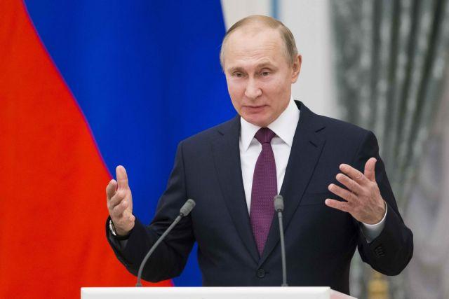 Πούτιν: Προβοκάτσιες τα περί χημικής επίθεσης | tovima.gr
