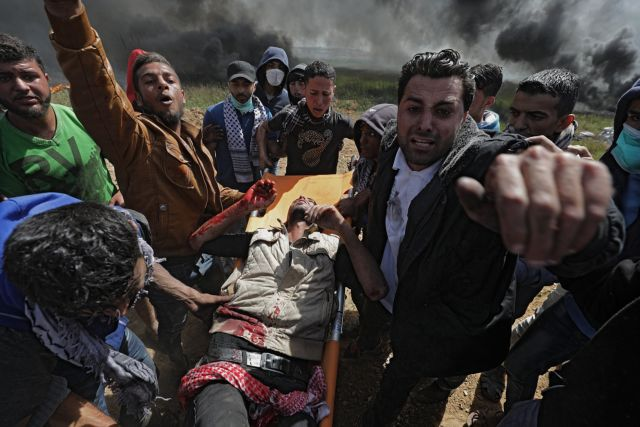 Νεκρός παλαιστίνιος δημοσιογράφος από ισραηλινά πυρά   tovima.gr