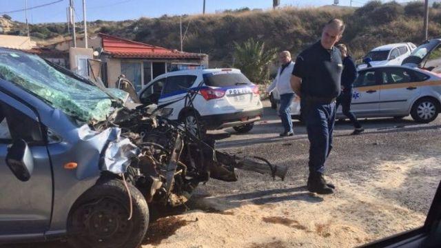 Κρήτη: Πολύ σοβαρό τροχαίο με έξι τραυματίες | tovima.gr