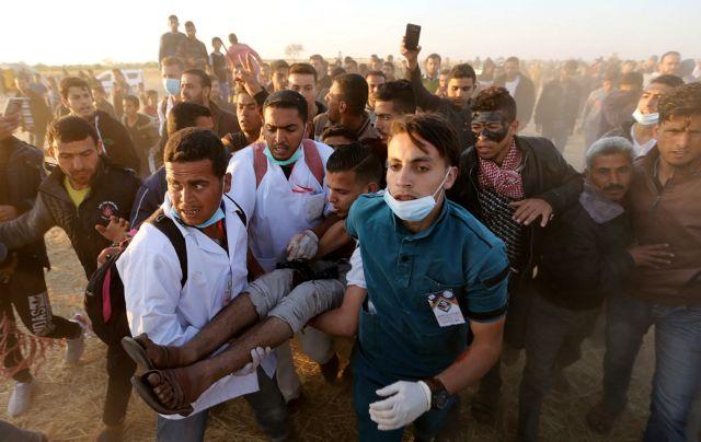Δηλώσεις ντροπής από Λίμπερμαν για την σφαίρα κατά Παλαιστίνιου   tovima.gr