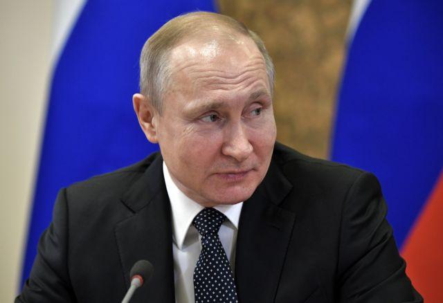 Να επικρατήσει η λογική στον κόσμο ελπίζει ο Πούτιν | tovima.gr