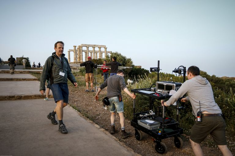 To BBC ξεκίνησε τα γυρίσματα του στο Σούνιο | tovima.gr