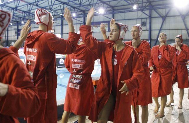 Πόλο: Η ομάδα γυναικών του Ολυμπιακού στον τελικό του Len Trophy | tovima.gr