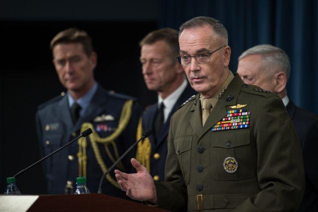 Αμερικανικό Πεντάγωνο: Οι βομβαρδισμοί πήγαν πίσω για χρόνια το πρόγραμμα χημικών όπλων της Συρίας | tovima.gr