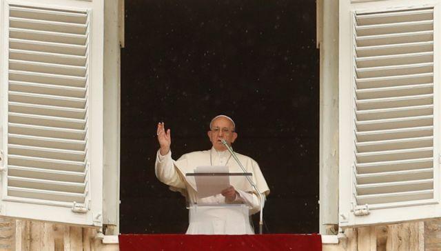 Εκκληση για επίτευξη ειρήνης στην Συρία από τον Πάπα Φραγκίσκο | tovima.gr