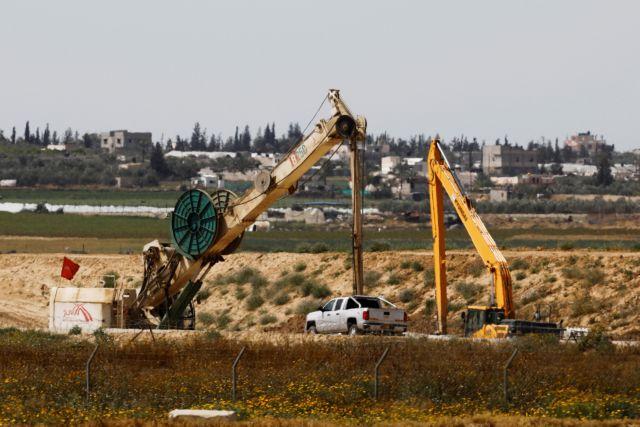 Ο ισραηλινός στρατός κατέστρεψε σήραγγα που συνέδεε Γάζα με Ισραήλ | tovima.gr