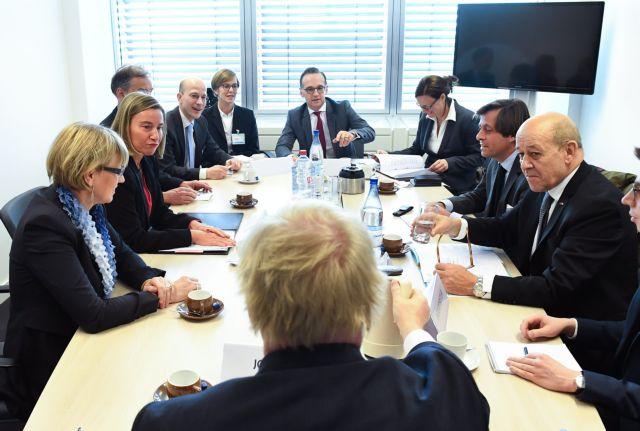 ΥΠΕΞ ΕΕ: Προσηλωμένοι στην «πολιτική διαδικασία διευθέτησης» στη Συρία | tovima.gr