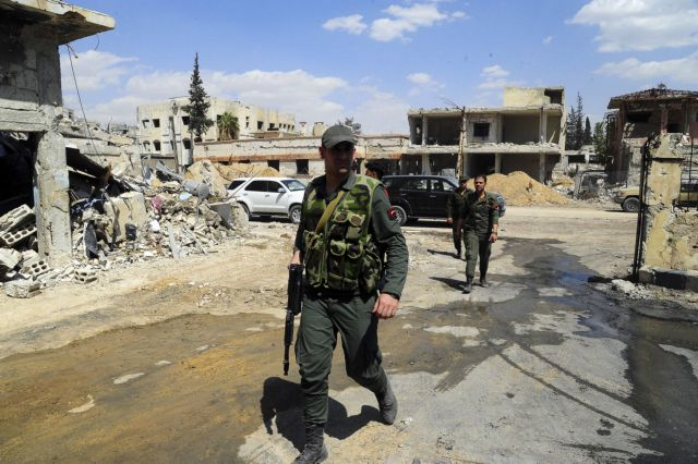 Νέες συγκρούσεις στη Ντούμα με νεκρούς   tovima.gr