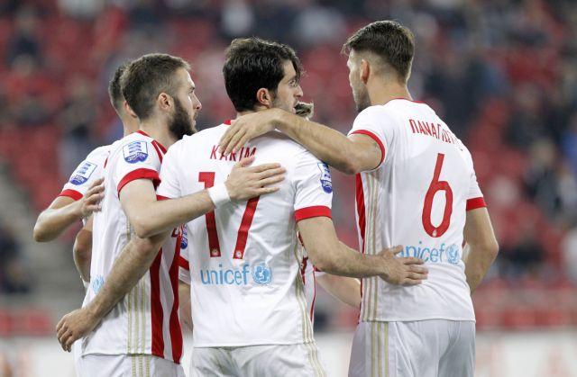 Super League: Άνετα ο Ολυμπιακός, 5-1 την Κέρκυρα | tovima.gr